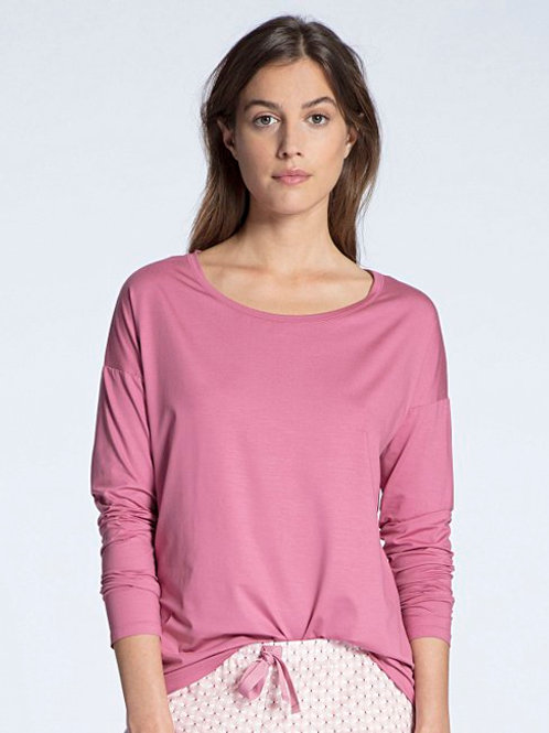 Favourite (15137)- Top manches longues - Cassis - CALIDA