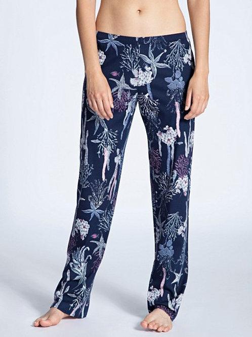 Pantalon détente Coton 29956) - Bleu - CALIDA