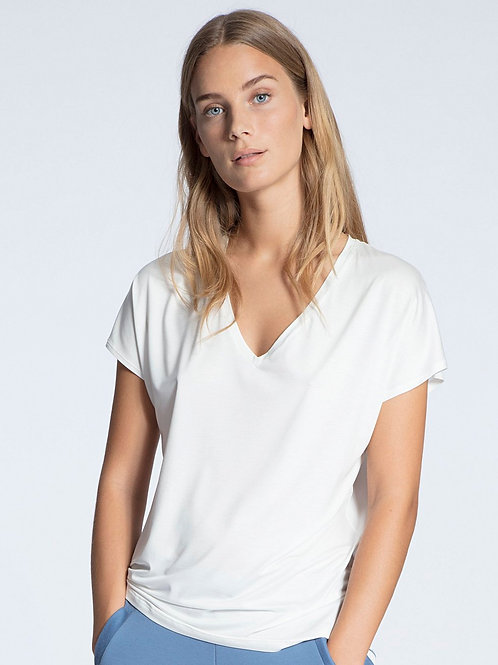 Favourite Trend (14337)- Top manches courtes - Sand - CALIDA