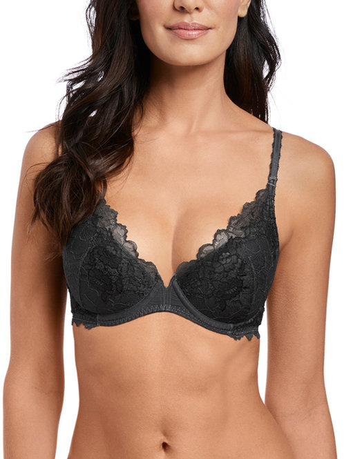 Lace Perfection - Push-up - Gris -  WACOAL