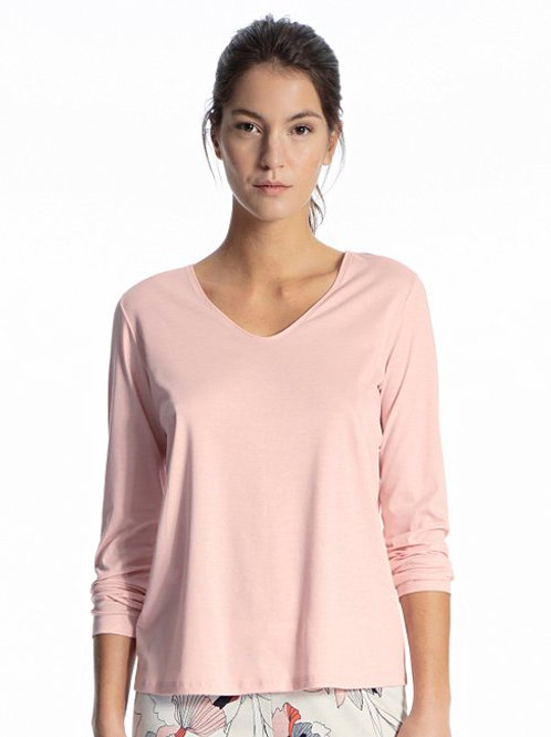 Favourite Trend (15334)- Top manches longues - Poudre - CALIDA