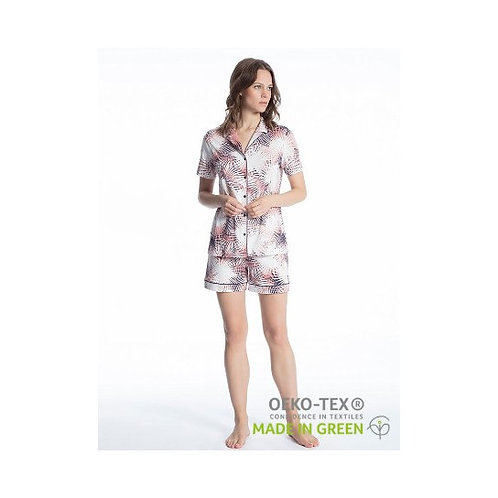 Pyjashort coton Supima (45222) - CALIDA