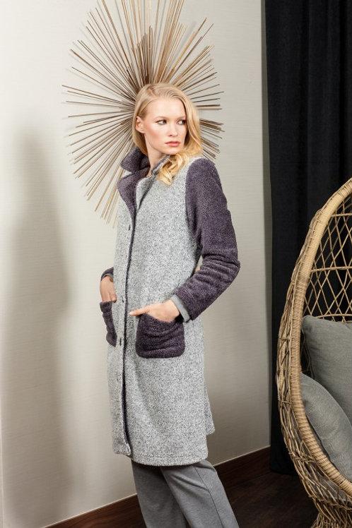 SILVER - Robe de Chambre - Grise - EGATEX