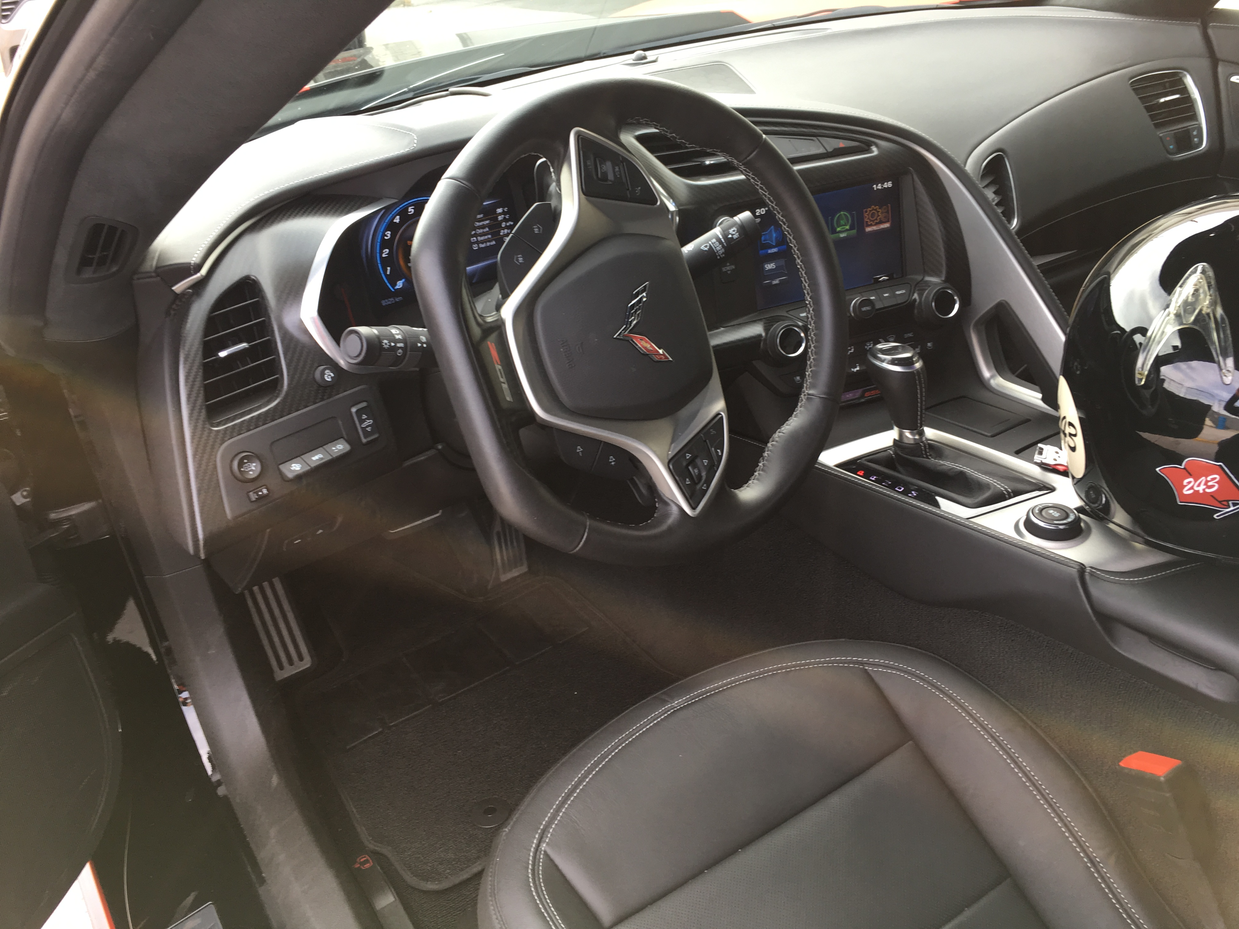 Corvette C7 Z06 Cockpit