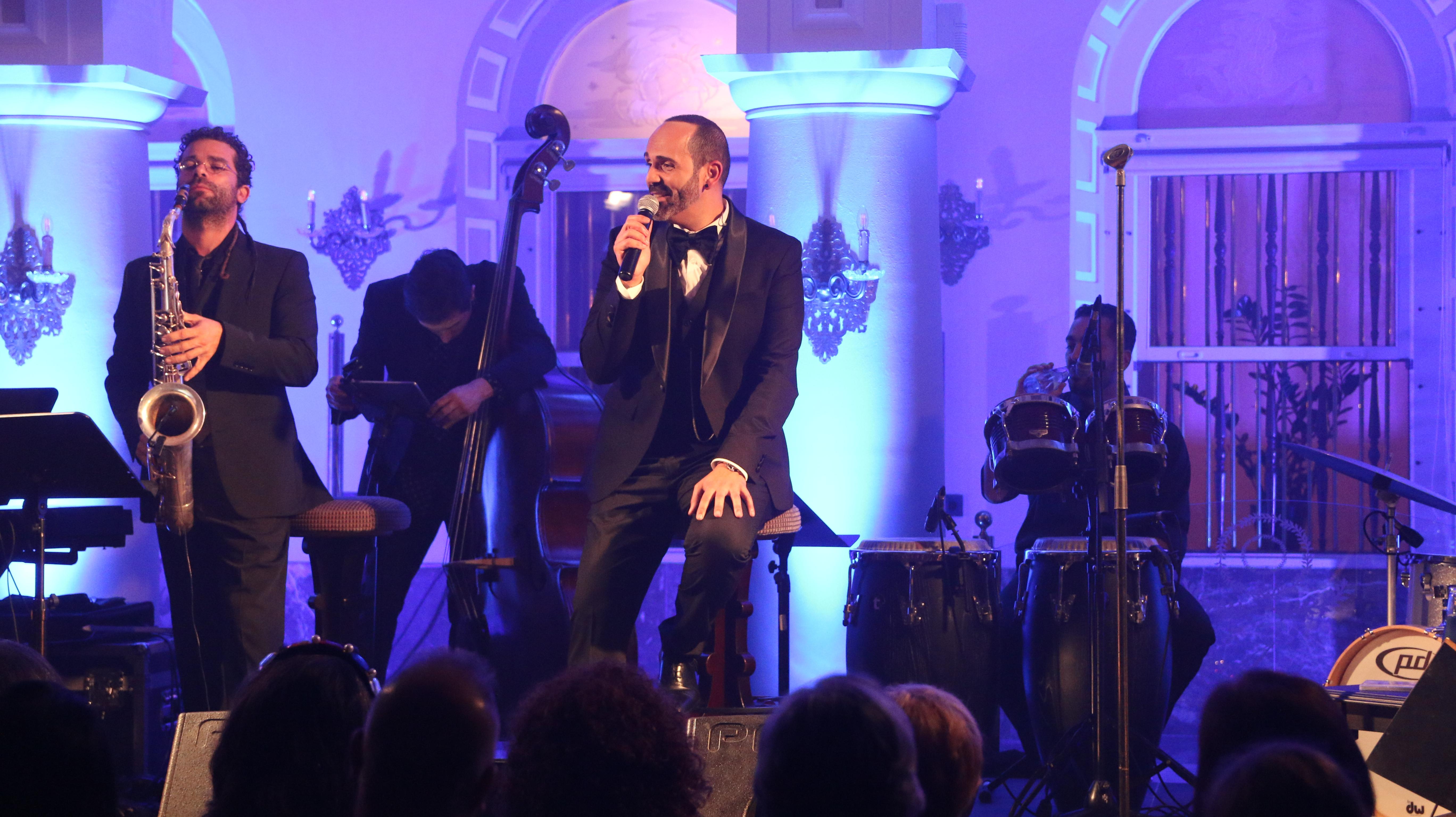 Gerson Galván en concierto Hotel Santa C