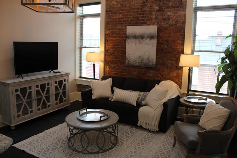 Livingroom with Smart TV