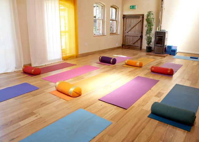 Indoor Yoga Space