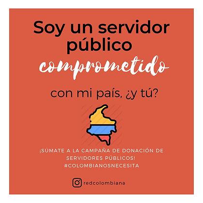 Donaciones de Servidores Públicos