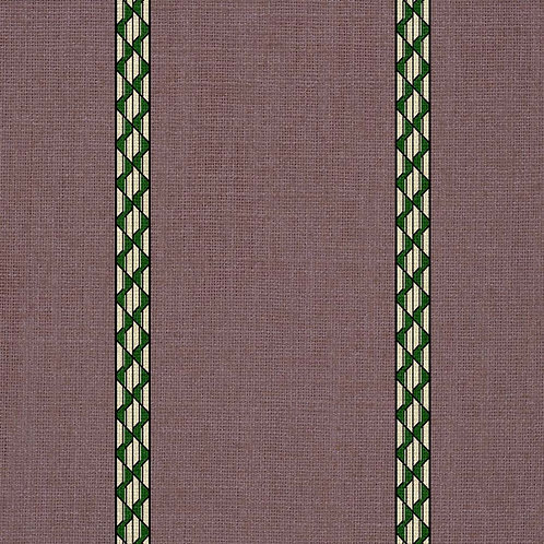 Pablo Stripes - Lilac and Green