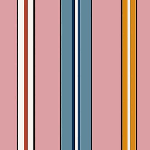 Sporty Stripes -Pink