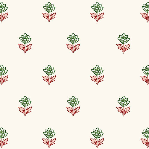 Indian Tulips - Pink and Green