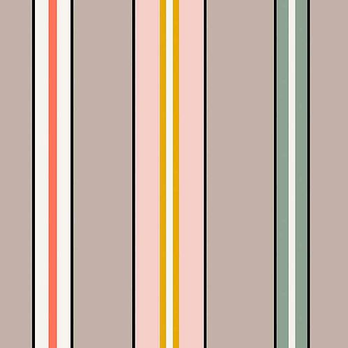 Sporty Stripes - Greige