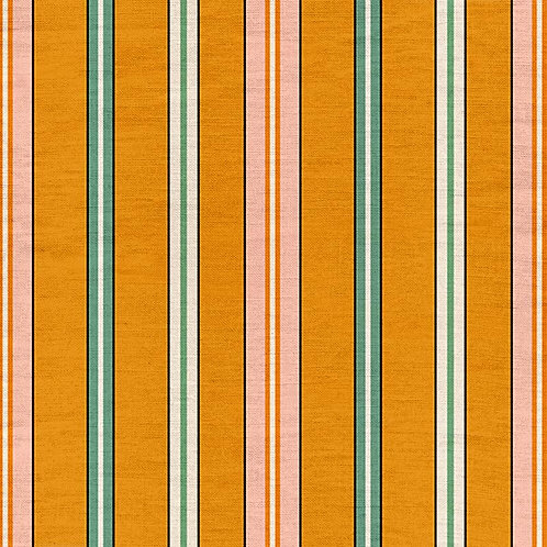 Sporty Stripes - Saffron