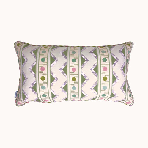 Cushion - Improvisation nr 2 - Green