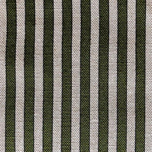 Tuscan Stripes - Natural & Moss