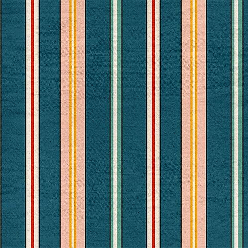 Sporty Stripes - Blue