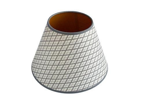 Lampshade - Little Lattice - Grey