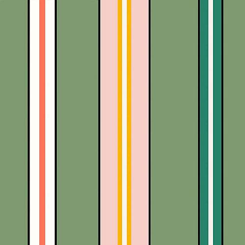 Sporty Stripes - Green