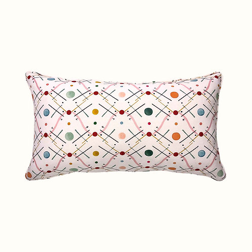 Cushion - Improvisation nr 1 - Pink