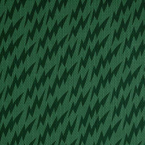Lightning Bolts - Green