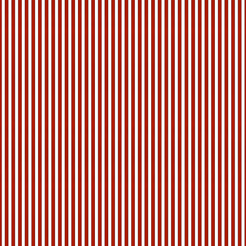 Tuscan Stripes - Red