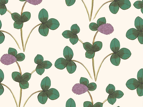 Chintz Constance - Green and Lilac