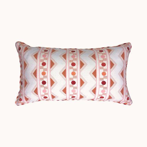 Cushion - Improvisation nr 2 - Coral
