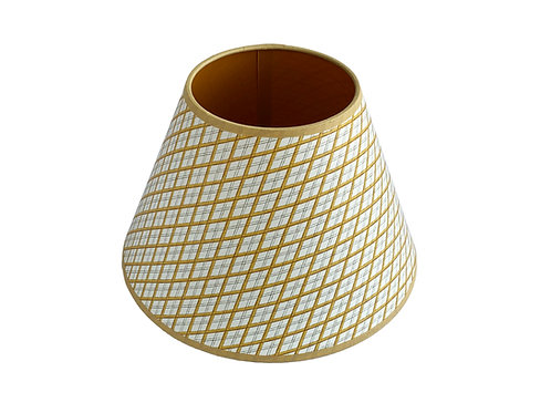 Lampshade - Little Lattice - Mustard