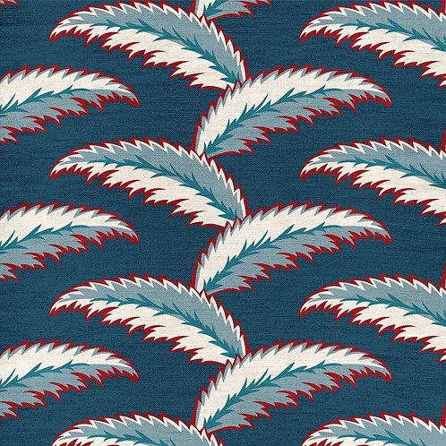 Persian Palm - Blue and Red