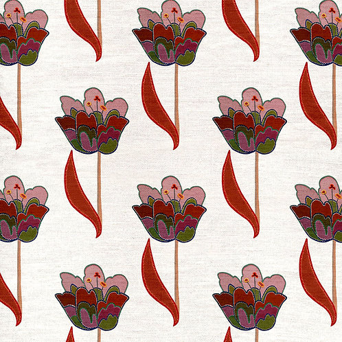 Tulips - White and Red