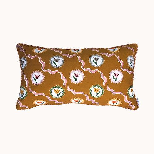 Cushion - Tulips of Belgravia - Gold