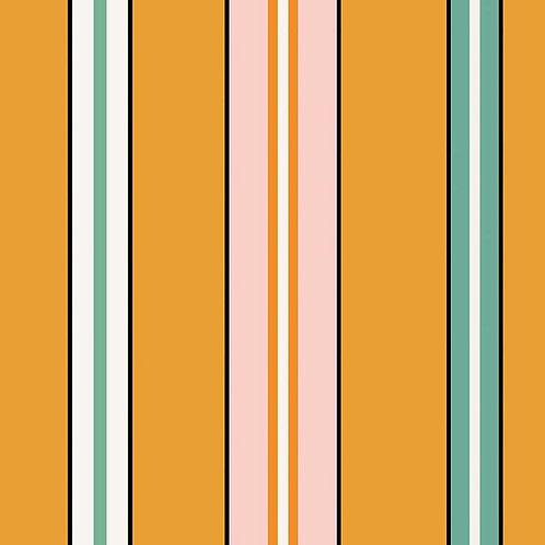 Sporty Stripes - Saffron