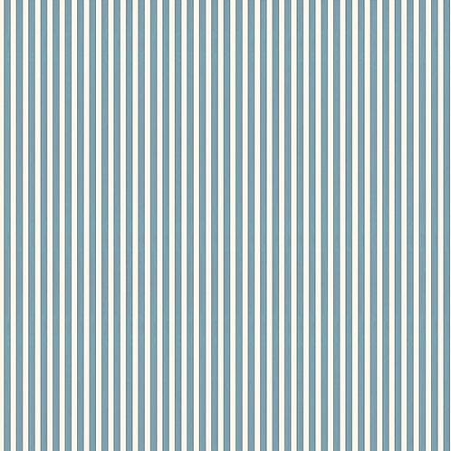 Tuscan Stripes - Light Blue