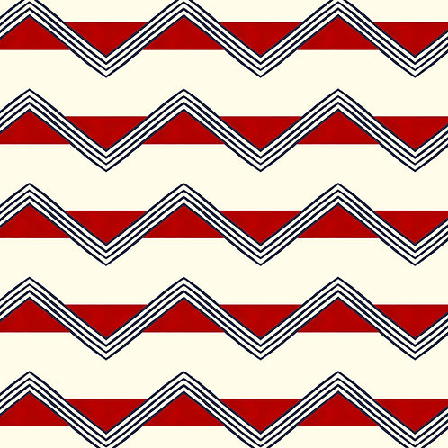 Moroccan Stripes - Red