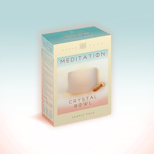 Sound Meditation Crystal Bowl