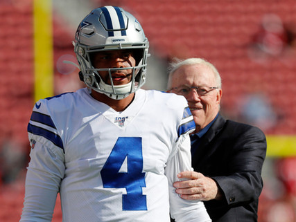Cowboys Secure Prescott for Four More Years