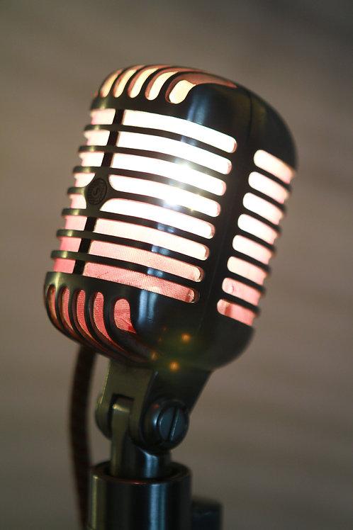 Shure 55 Mic Lamp