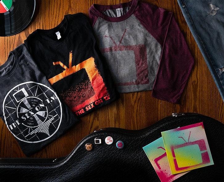 The Sex on T.V. merchandise