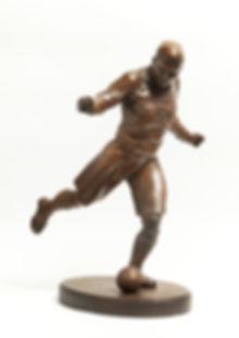 Е. Янсон-Манизер. Футболист. 1940-50-е г