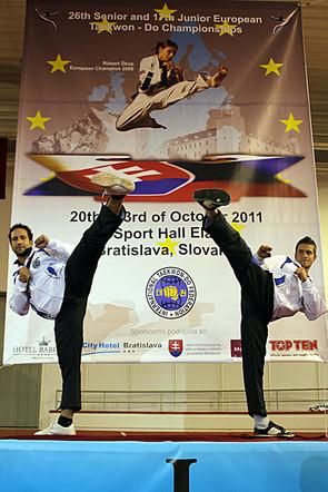 Podio Europeo 2011 Bratislava