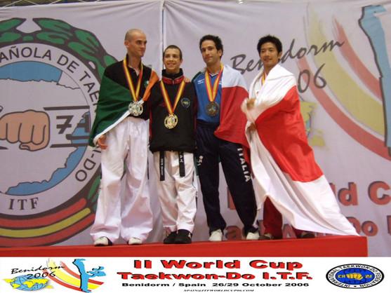 Podio World Cup 2006 Benidorm Spagna