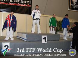 Podio World Cup 2008 Riva del Garda