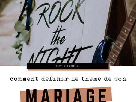 Comment définir le thème de son mariage? ★★★