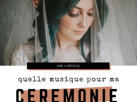 Quelle musique choisir pour ma cérémonie de mariage? ✯