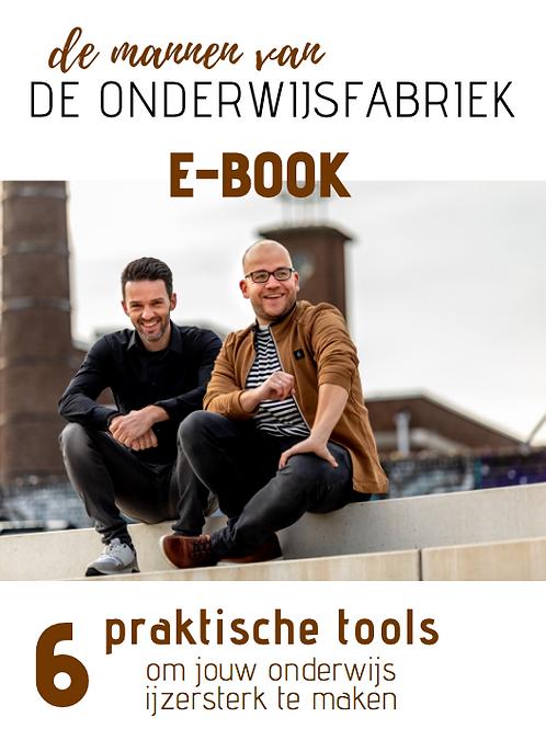 E-BOOK 6 praktische tools om jouw onderwijs ijzersterk te maken