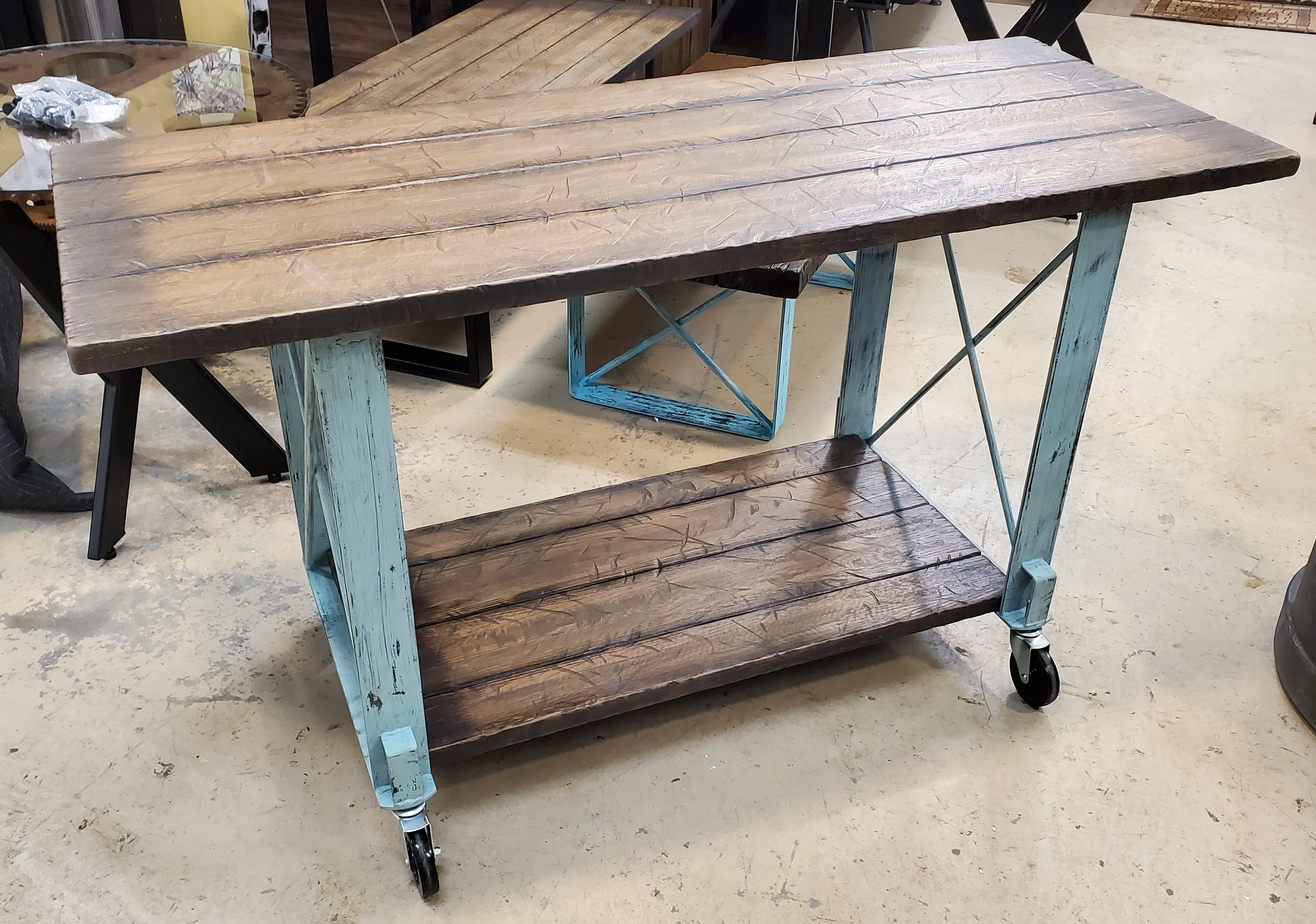 Cart Table Over/Under