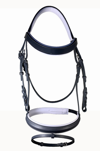ANDY BRIDLE WHITE PADDED