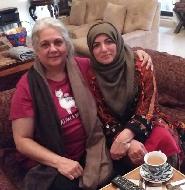 me with Shahnaz shaikh
