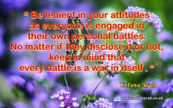 Be Lenient 5