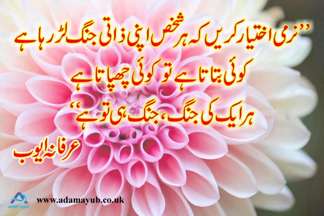 Narmi- Urdu 5